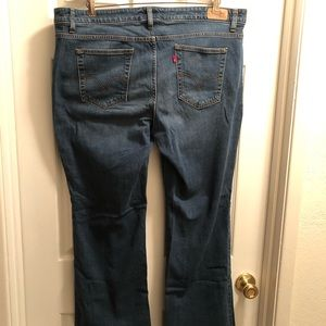Levi boot cut 590 women's jeans size 18 M